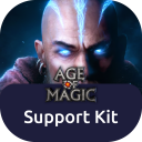 Age of Magic - Support Kit logo