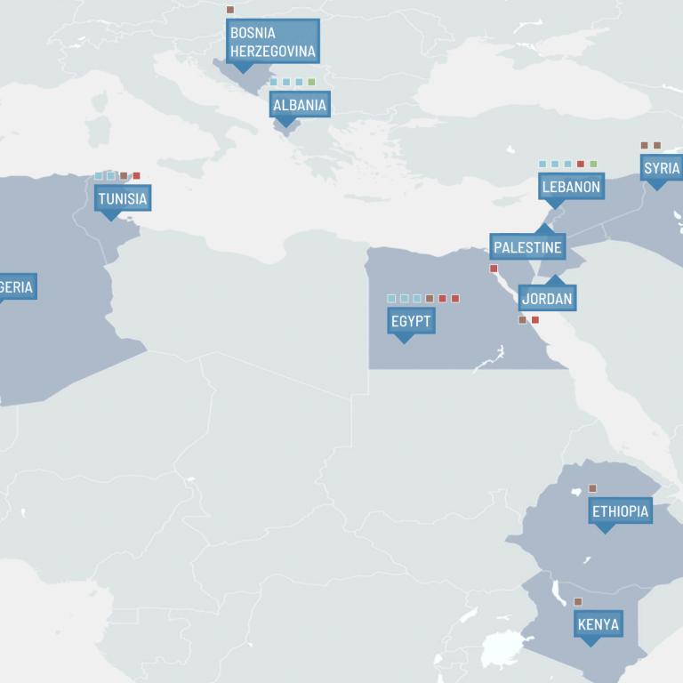 CIHEAM EXCO 2019 - Maps Screen 01