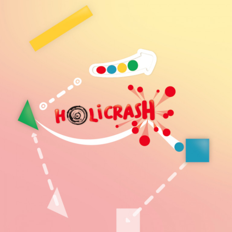 Holi Crash - Colorful Puzzle Game Banner