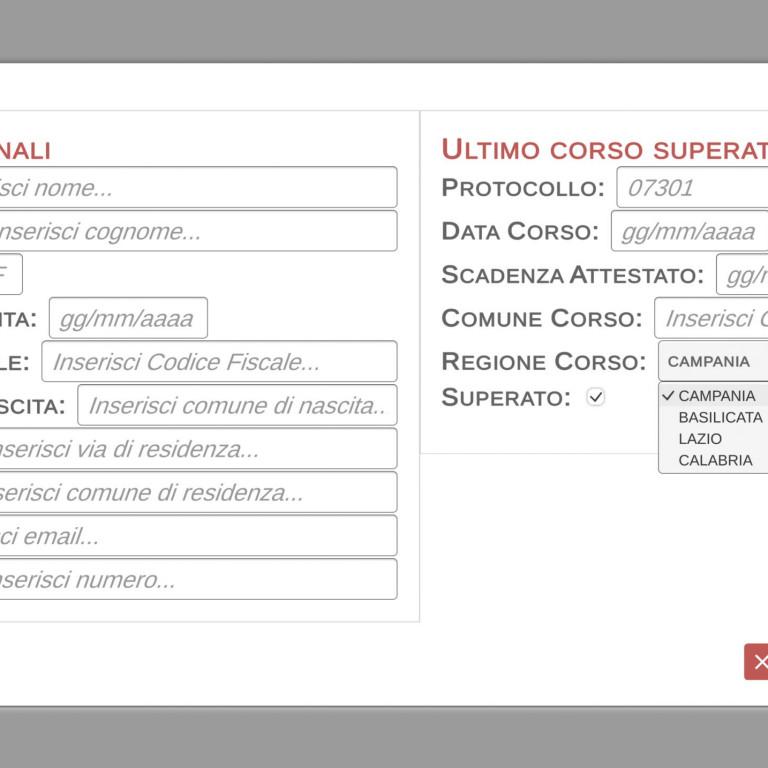 BLS D - ODV Carmine Speranza Screen New User