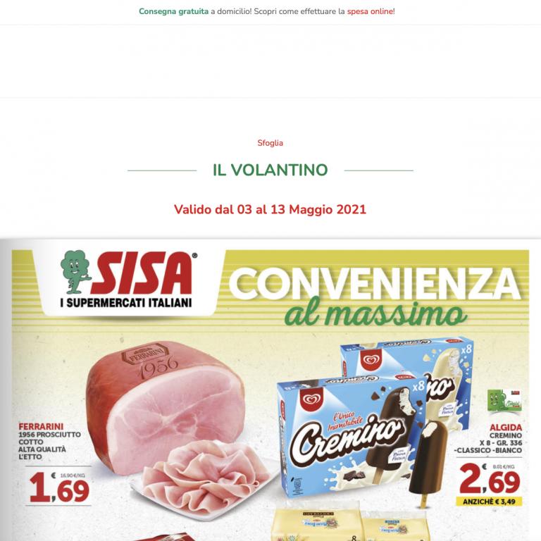 Supermercati SISA Avetrana Screen 02